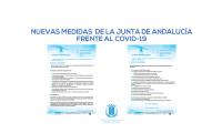 NUEVAS MEDIDAS JUNTA DE ANDALUCÍA FRENTE AL COVID-19