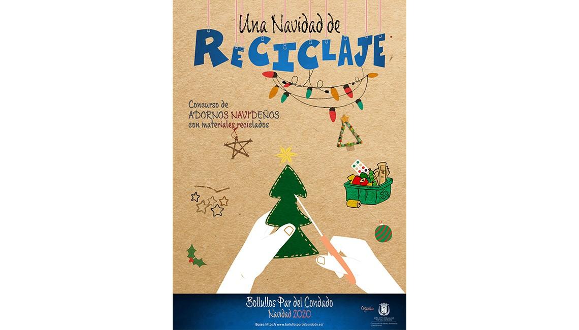 Una navidad de reciclaje