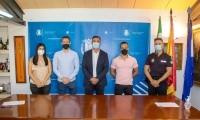 TOMA DE POSESIÓN DE 2 NUEVOS POLICÍAS LOCALES COMO FUNCIONARIOS EN PRÁCTICAS