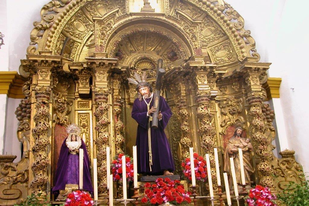Retablo procedente del antiguo Convento de San Juan de Morañina. Capilla  de Ntro. Padre Jesús