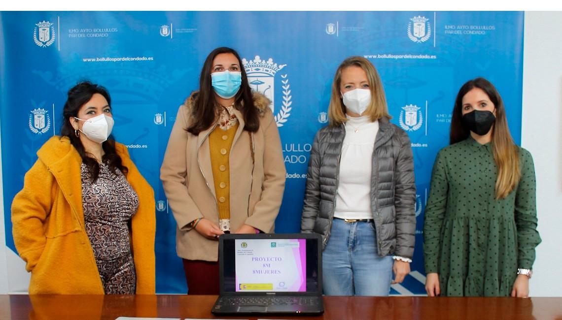 """LA CONCEJALÍA DE IGUALDAD PRESENTA EL PROYECTO """"8M–8 MUJERES"""""""