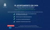 EL AYUNTAMIENTO EN CASA – NUEVA SEDE ELECTRÓNICA